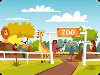 Przedszkole nr 6 w Wągrowcu | Czerwony Kapturek - Wycieczka do Zoo